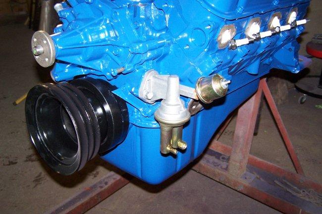 66 mustang fuel filter location  | 800 x 600