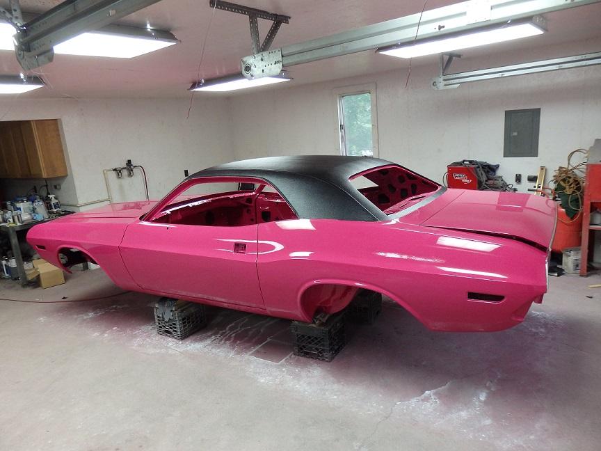 1970 Panther Pink Challenger Restoration Part 22