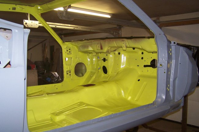 How To Paint Interior Of Car The Tin Flew Around Like A